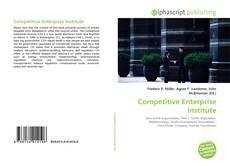 Couverture de Competitive Enterprise Institute