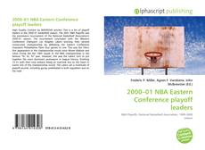 Bookcover of 2000–01 NBA Eastern Conference playoff leaders
