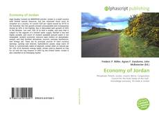 Bookcover of Economy of Jordan