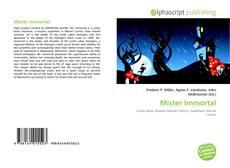 Buchcover von Mister Immortal