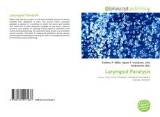 Bookcover of Laryngeal Paralysis