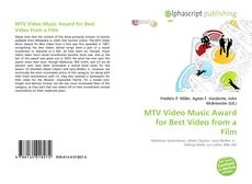 Couverture de MTV Video Music Award for Best Video from a Film