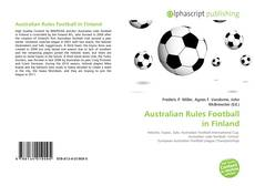 Bookcover of Australian Rules Football in Finland