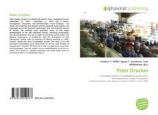 Borítókép a  Peter Drucker - hoz