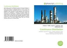 Couverture de Continuous Distillation