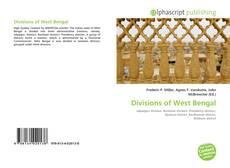 Buchcover von Divisions of West Bengal