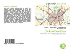 Couverture de De Rays Expedition