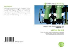 Bookcover of Aerial bomb