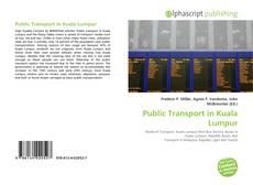 Portada del libro de Public Transport in Kuala Lumpur