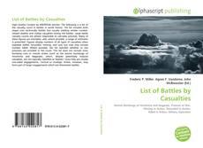 Borítókép a  List of Battles by Casualties - hoz