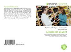 Bookcover of Accessories Council