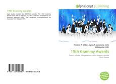 Обложка 19th Grammy Awards