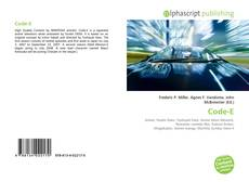 Bookcover of Code-E