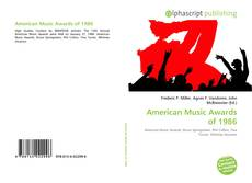 Bookcover of American Music Awards of 1986