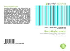 Couverture de Henry Heylyn Hayter