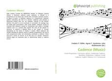 Capa do livro de Cadence (Music)