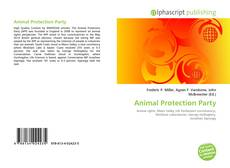 Buchcover von Animal Protection Party