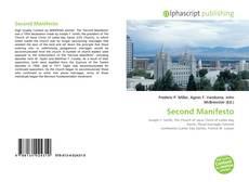 Buchcover von Second Manifesto