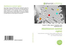Capa do livro de Abolitionism (animal rights)
