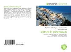 Bookcover of Districts of Chhattisgarh