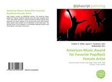 Capa do livro de American Music Award for Favorite Pop/Rock Female Artist
