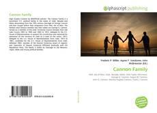 Обложка Cannon Family