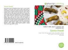 Обложка Sarma (Food)