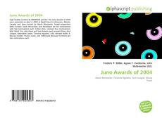 Обложка Juno Awards of 2004