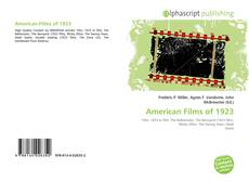 Bookcover of American Films of 1923