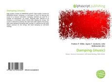 Portada del libro de Damping (music)