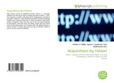 Bookcover of Acquisitions by Yahoo!