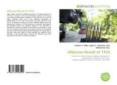 Bookcover of Albanian Revolt of 1910