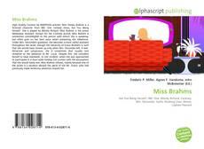 Copertina di Miss Brahms