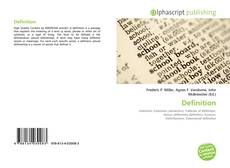 Bookcover of Definition