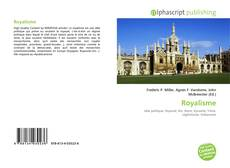 Bookcover of Royalisme