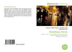 Capa do livro de Broadway Stores