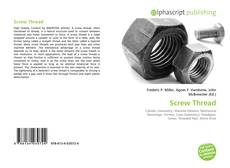 Bookcover of Screw Thread