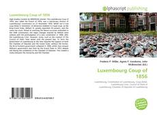Bookcover of Luxembourg Coup of 1856