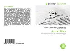 Bookcover of Acts of Pilate