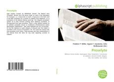 Bookcover of Proselyte