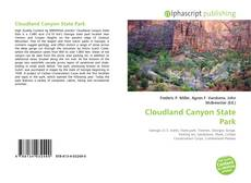 Bookcover of Cloudland Canyon State Park
