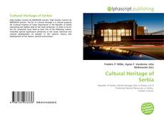 Bookcover of Cultural Heritage of Serbia