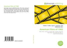 Bookcover of American Films of 1962