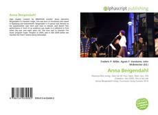 Portada del libro de Anna Bergendahl