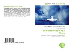 Bookcover of Bombardment of Qui Nhơn