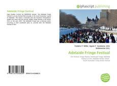 Adelaide Fringe Festival kitap kapağı