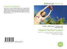 Buchcover von Lingerie Football League