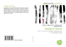 Bookcover of George D. Herron