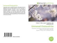Bookcover of Emmanuel Chukwudi Eze
