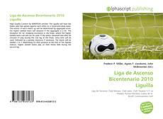 Portada del libro de Liga de Ascenso Bicentenario 2010 Liguilla